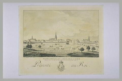 Hamm, capitale du comté de La Marck