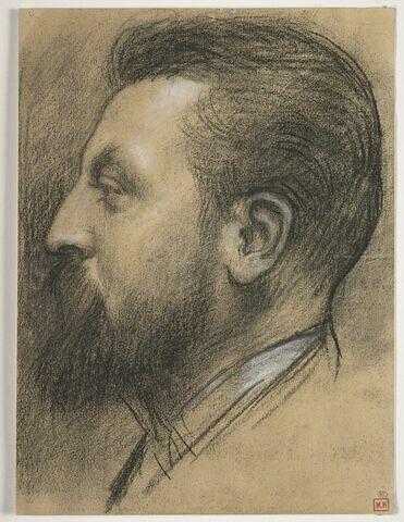 Portrait de Marie-Auguste Flameng