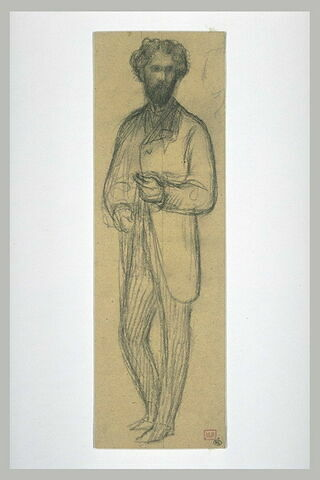 Portrait d'Adolf Karol Sandoz