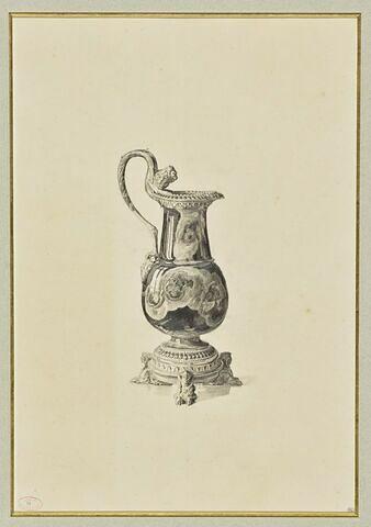 Une aiguière en onyx