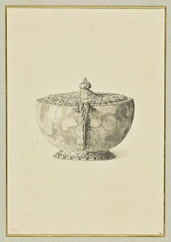 Une coupe d'onyx dans une monture d'argenterie