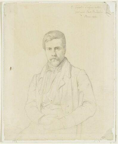 Portrait du peintre Emile Signol