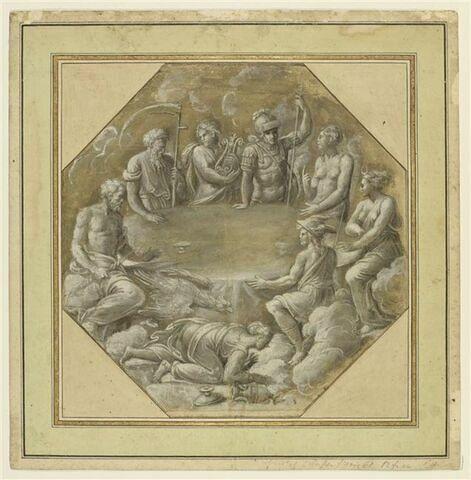 Le Festin des dieux, et la chute d'Hébé avant le rapt de Ganymède