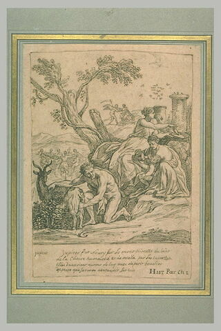 La Nourriture de Jupiter ou Jupiter allaité par la chèvre Amalthée