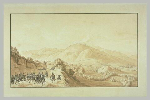 Bonaparte allant occuper le fort de Ceva, 28 avril 1796