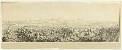 Le général Sérurier levant le siège de Mantoue