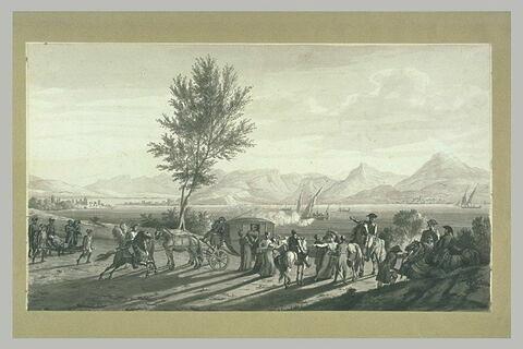 Madame Bonaparte à Desenzano en août 1796