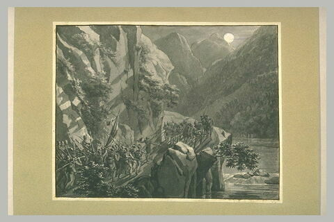 Escarmouche dans le défilé de Lavis, 5 septembre 1796