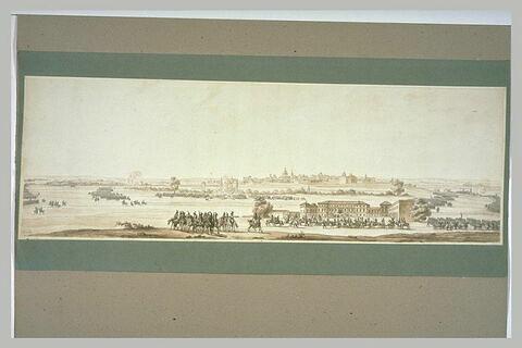 La bataille de La Favorite, devant les murs de Mantoue, le 16 janvier 1796