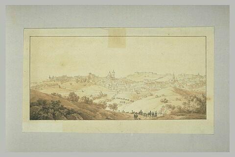 L'armée française traverse Urbino en février 1797