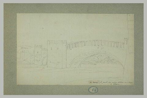 Le pont du vieux château sur l'Adige à Vérone