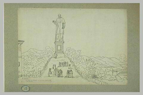 Statue de saint Charles Borromée à Arona