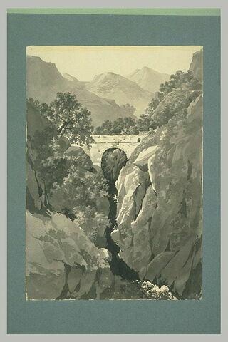 Le pont sur le Rhône à Bellegarde