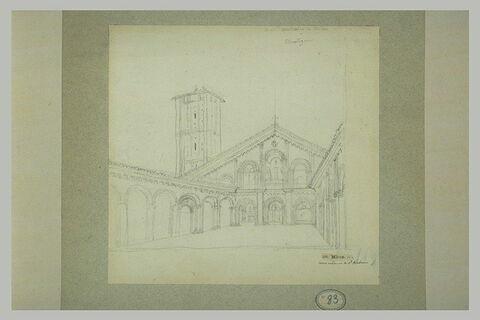 Atrium de Saint-Ambroise de Milan