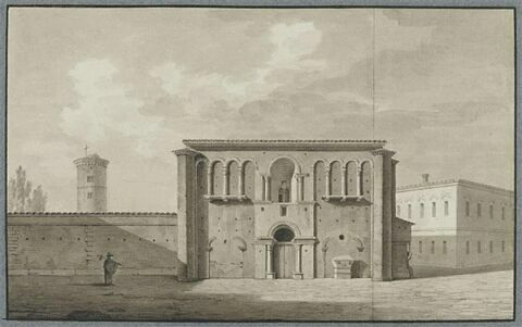 Le palais de Théodoric à Ravenne