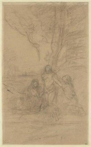 Saint Sébastien secouru par Irène et sa servante
