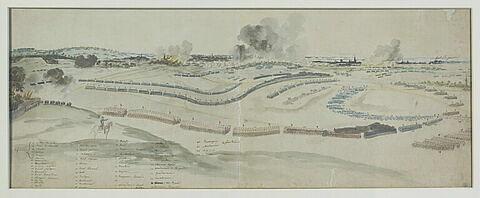 Louis XV à la bataille de Lawfeld
