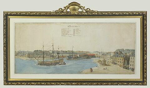 L'avant-port de Brest