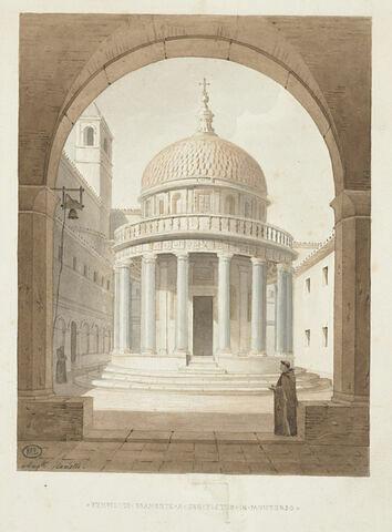 Le temple de Bramante à San Pietro in Montorio