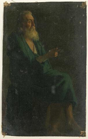 Figure d'apôtre, tourné à droite