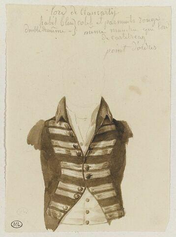 Etude du costume de Lord Clancarty