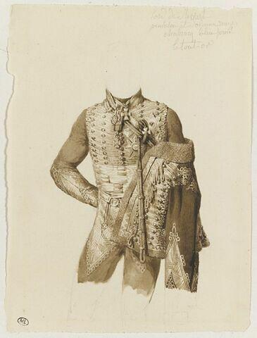 Etude de costume de lord Hewart