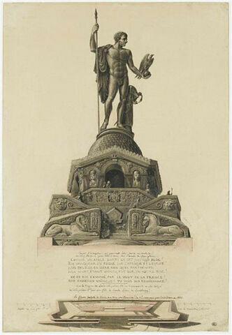 Projet de monument à Napoléon Ier