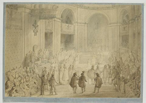 Sacre de Napoléon Ier à Notre Dame