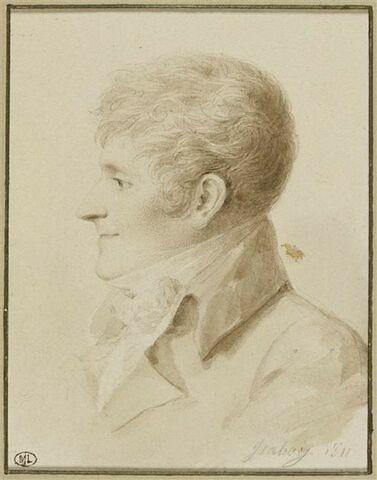 Buste d'Evariste Parny