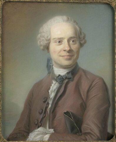 Portrait de Jean Le Rond  d'Alembert ( 1717-1783).