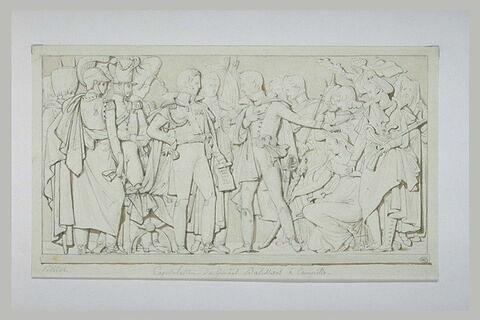 Projet de bas-relief pour l'Arc de Triomphe du Carrousel