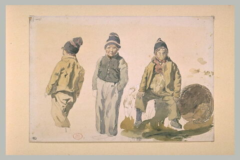 Jeunes pêcheurs de Fécamp