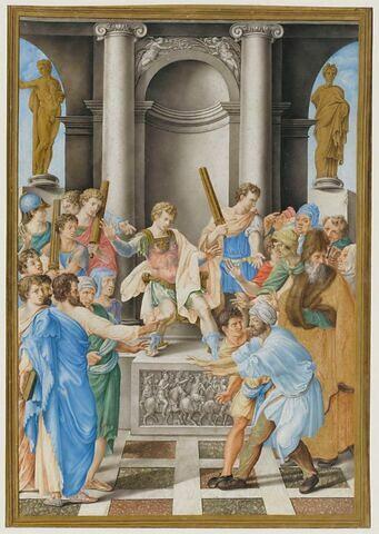 La Conversion du proconsul romain Sergius Paulus et le châtiment d'Élymas