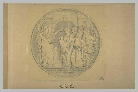 Médaille dédiée aux Arts