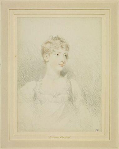 Portrait de Charlotte Augusta, princesse de Galles
