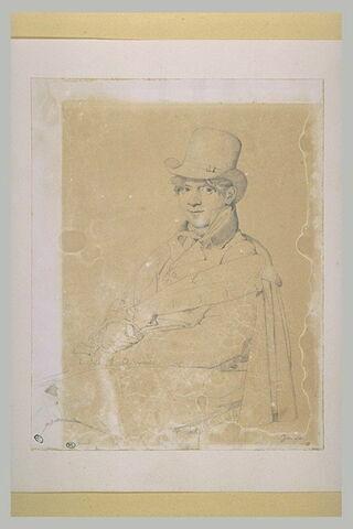 Portrait du peintre Chauvin
