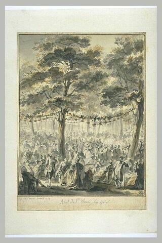 Le bal de Saint-Cloud chez Griel