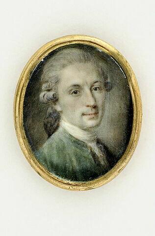Autoportrait de Vestier en buste.