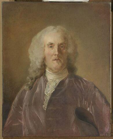 Portrait d'Abraham van Robais ( 1698-1779).