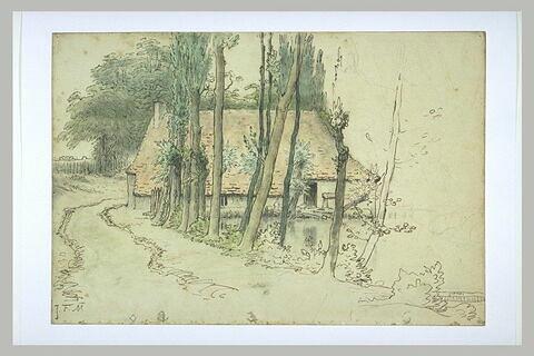 Environs de Vichy, maison au bord de l'eau