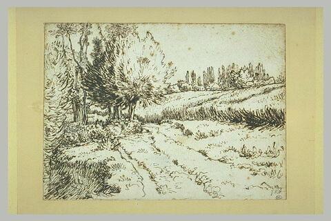 Paysage aux environs de Vichy