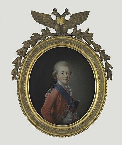 Portrait présumé du grand-duc Paul Petrovitch, futur Paul Ier de Russie (1754-1801)