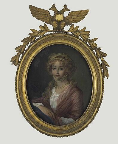 Portrait probable de l'impératrice Elisabeth Alexeïevna