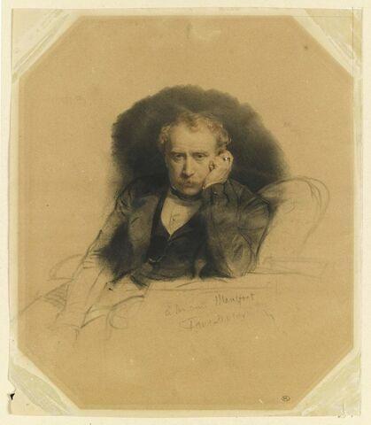 Portrait du peintre Antoine Alphonse Montfort