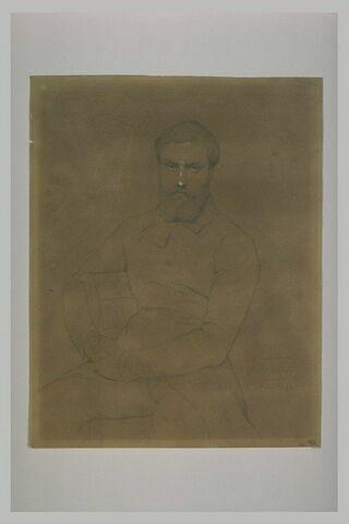 Portrait du peintre Benoît Chancel