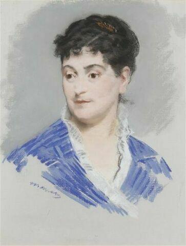 Portrait de Madame Emile Zola
