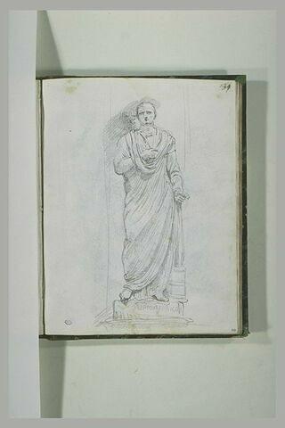 Statue de Scipion l'Africain, dans une niche