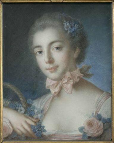 Portrait de Madame de Pompadour