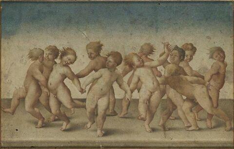 Ronde d'enfants nus