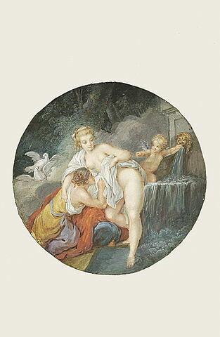 Vénus sortant du bain